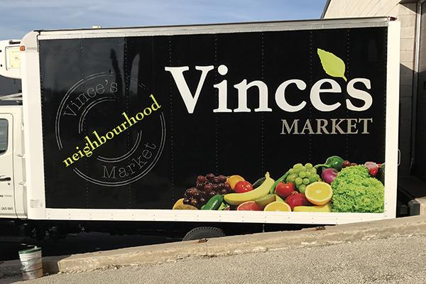 Vince's truck vinyl